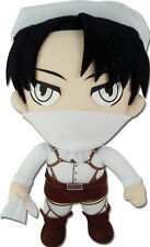 **License** Attack on Titan SD Levi Ackerman Cleaning 8'' Plush #52777