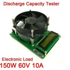 150W Constant Current Electronic Load 60V 10A Battery Discharge Capacity Tester