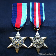 WW2 BRITISH MILITARY MEDALS 1939 - 1945 STAR & ARCTIC STAR COMMONWEALTH COPY
