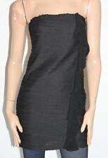 bluebyou Designer Black Fitted Strapless Dress Size 10 BNWT #sl45
