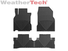 WeatherTech® All-Weather Floor Mats for Nissan Cube - 2009-2013 - Black