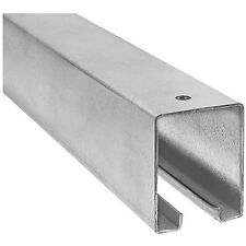 Stanley National N105-726 8' Galvanized Steel Barn Door Track Box Style