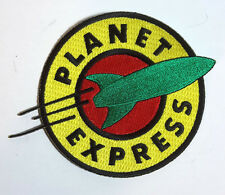 """Futurama Planet Express 5"""" DELUXE Embroidered Patch- FREE S&H (FUTPA-01-D)"""