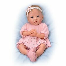 Claire 18 Inch Realistic Silicone Baby Girl Doll from Ashton Drake New