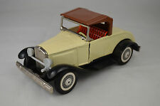 "Vintage Bandai Japan Model A Ford Roadster Auto Friction Motor 6 1/4"" Near Mint"