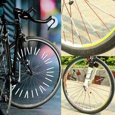 12pcs/Satz Fahrrad reflektierende Streifen Speichenreflektor Beleuchten in Nacht