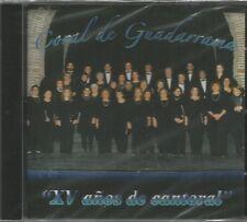 CORAL DE GUADARRAMA-XV AÑOS DE CANTORAL CD ALBUM SPAIN