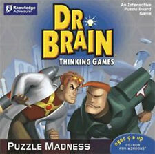Dr. Brain Thinking Games Puzzle Madness   Interactive Puzzle Board Game  NEW