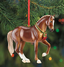 Breyer 700513 Warmblood Resin Holiday Horse Christmas Ornament - NIB