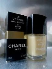 24 BEIGE D'OR CHANEL LE VERNIS RARE NAIL COLOUR VARNISH NEW NEAR MINT COND BOX