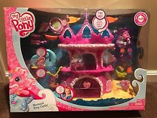 *~My Little Pony Mermaid Pony Castle With Pinkie Pie NIB~*