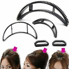 (PACK OF 1) 5 PCS BLACK HAIR BUMPITS VOLUMIZING INSERTS SPONGE STYLING HAIR TOOL