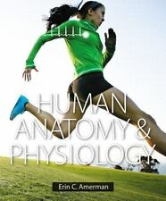 Human Anatomy and Physiology by Erin C. Amerman (2014, Hardcover) ##BRAND NEW##