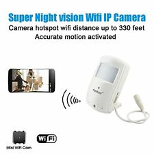 Conbrov® WF28 HD Wireless Home Wifi Ip Hidden Video Camera Security Nanny Cam wi