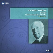 Fischer-Dieskau/Moore-richard strauss-CHANSONS (BOX-set) 6 CD NEUF