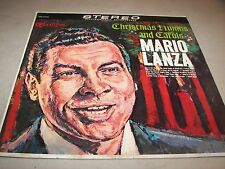 Christmas Hymns and Carols Mario Lanza LP VG RCA Camden CAS-777e 1963