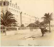 France, Cannes, hôtel Gonnet  Vintage albumen print  Tirage albuminé  21x27