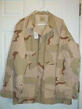 New DCU- Desert Camouflage Pattern Combat Uniform Coat! Size Large-Long.