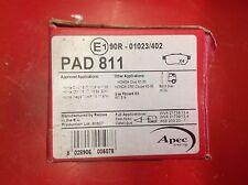 APEC REAR BRAKE PADS TO SUIT HONDA CRX CIVIC INTEGRA PAD811 OLD STOCK g