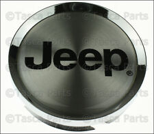 "OEM 17"" X 7.5"" CHROME WHEEL JEEP LOGO CENTER CAP 2008-2010 JEEP GRAND CHEROKEE"