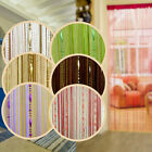 Beauty String Tassel Curtain Crystal Beads Door Window Panel Room Divider Decor