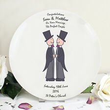 UNIQUE GAY MALE CIVIL PARTNERSHIP CEREMONY SAME SEX MARRIAGE WEDDING GIFT IDEA