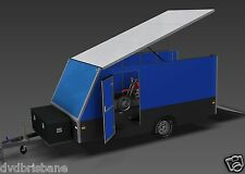 TRAILER PLANS - 4m ENCLOSED MOTORBIKE TRAILER - Build your own trailer