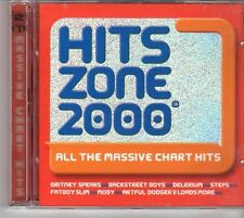 (EU573) Hits Zone 2000, 30 tracks various artists - 2CDS - 2000 CD