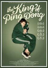 THE KING OF PING PONG Movie POSTER 27x40 Jerry Johansson Hampus Johansson Alf