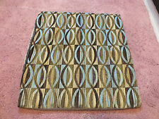 Beautiful Signature Homestyes Deco Pillow Cover 18 Inch Square Olive Brown Turqu