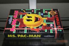 Ms. Pac-Man (Sega Genesis, 1991) FACTORY SEALED! - EXCELLENT! - RARE!