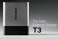 SAMSUNG T3 PORTABLE 2TB USB 3.1 EXTERNAL SSD (MU-PT2T0B/AM)•MONEY BACK GUARANTEE