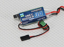 Turnigy UBEC 3A with Low Voltage Buzzer 2S - 5S 7,2V - 21V Input, 5/6V 3A output