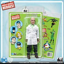 Official DC Comics Lex Luthor 8 inch Action Figure on Mego-Like Retro Card