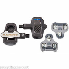 NEW LOOK KEO BLADE 2 CR Carbon Fiber Cromo Road Pedals & Grey Cleat set: 20Nm