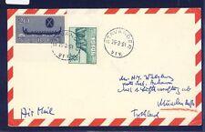 55340) LH FF München - Ankara 1.4.61, Karte ab Norwegen