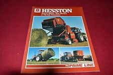 Hesston 5545 5585 5510 5530 Round Balers Dealers Brochure LCOH