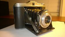 """Ansco Speedex 4.5"" 120 Film Camera W/Agfa Agnar 85mm F/4.5 Lens MADE IN GERMANY"