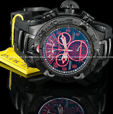 Invicta Reserve JT Subaqua Noma V Chrono Ltd Ed Red Dial Black Strap SS Watch