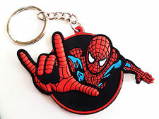Classic Spiderman Spidey Key Chain Ring Keychain Keyring Marvel Comics NEW