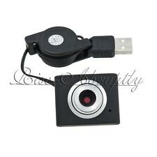 Mini Stylish USB 2.0 5M Meter Retractable Clip WebCam Web Camera Laptop