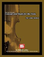 Mel Bay: Concept And Study For The Viola - The Lobko Method