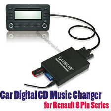Yatour Car Music MP3 CD Changer USB SD AUX for Renault 8 Pin Series Clio Kangoo