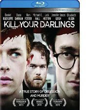 KILL YOUR DARLINGS BLU-RAY / CASE / ARTWORK - DANIEL RADCLIFFE - AUTHENTIC US
