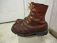 VINTAGE 70'S RED WING BOOTS MADE IN USA GREAT CONDITION NOT MUCH USED 9 EE