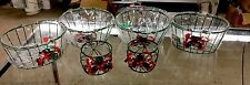 Christmas Decorative Basket Set