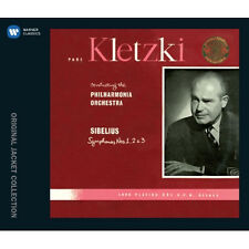 PAUL KLETZKI - JEAN SIBELIUS SYMPHONY NOS.1 & 2 & 3 2CD KOREA EDITION SEALED
