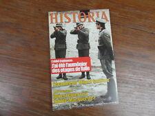 HISTORIA - 1980 - No 398 - OTAGES DE TULLE CHAISE ELECTRIQUE Photo du sommaire