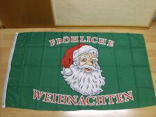 Fahnen Flagge Fröhliche Frohe Weihnachten Quer Sonderposten - 90 x 150 cm