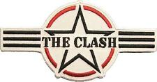 "Clash/the Clash aufbügler/Embroidery patch # 14 ""logo"""